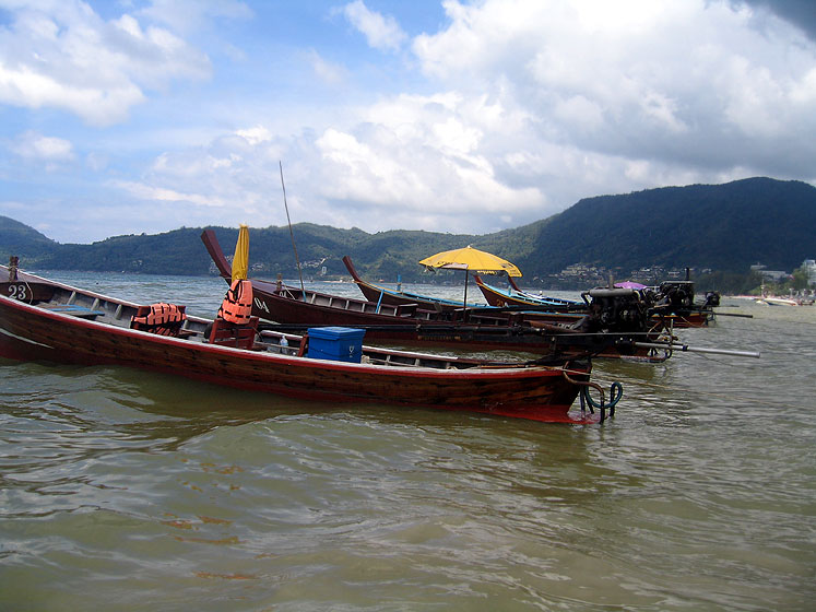 World Travel Photos :: Thailand - Misc :: Boats in Thailand