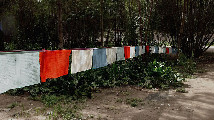 World Travel Photos :: Kwan Mei :: Tibet. Laundry