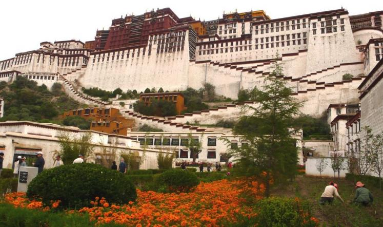 World Travel Photos :: Religious buildings :: Lhasa. Potala Palace - UNESCO World Heritage Site