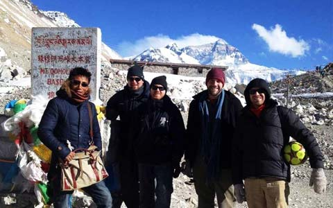 World Travel Photos :: Tibet :: Mount Everest base camp tour
