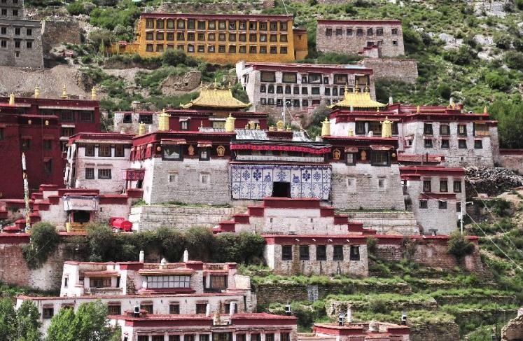 World Travel Photos :: Tibet :: Tibet. Ganden Monastery
