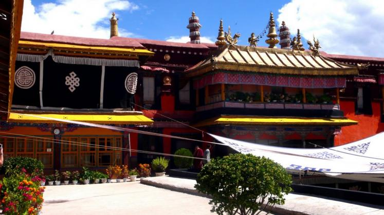 World Travel Photos :: Tibet :: Dalai Lama´s previous abode