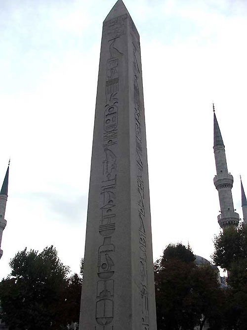 World Travel Photos :: Turkey - Istanbul :: Istanbul. The Obelisk of Theodosius