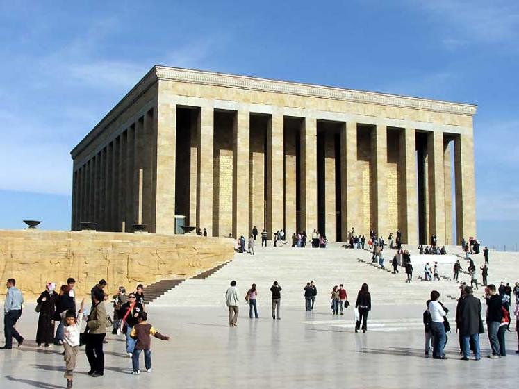 World Travel Photos :: Turkey - Misc :: Ankara . Anıtkabir (Ataturk mausoleum)