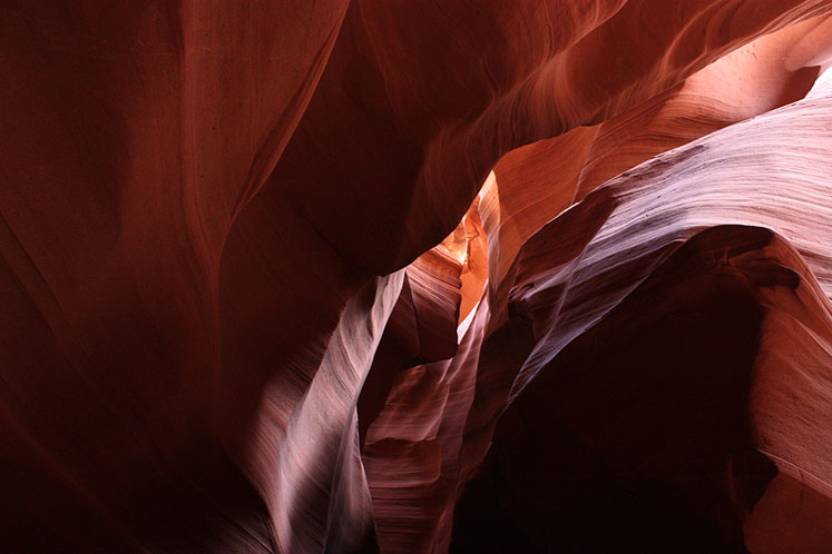 World Travel Photos :: USA - Arizona - Antelope Canyon :: Arizona. Antelope Canyon