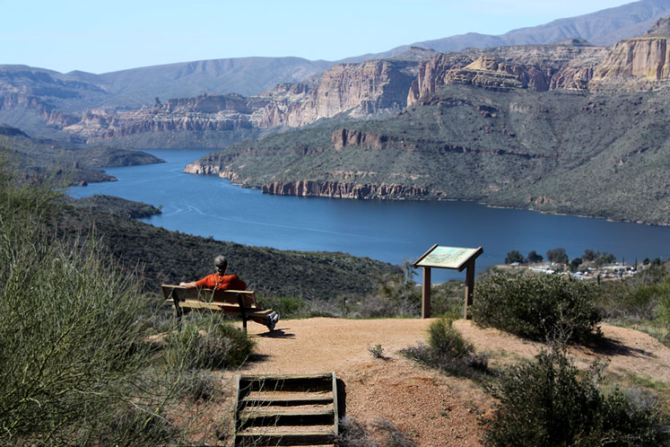 World Travel Photos :: Serenity :: Arizona. A peaceful rest at Apache Trail