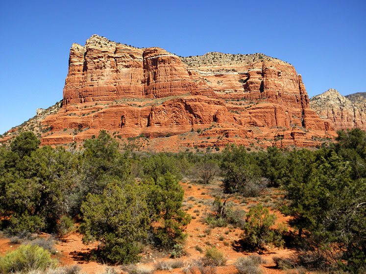 World Travel Photos :: The most beautiful natural spots :: Red mountains of Sedona, Arizona