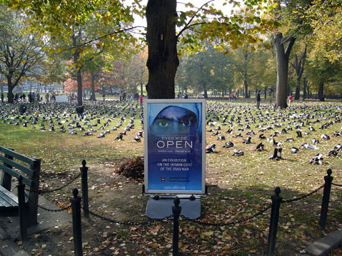 World Travel Photos :: Dima :: Boston. Military memorial action