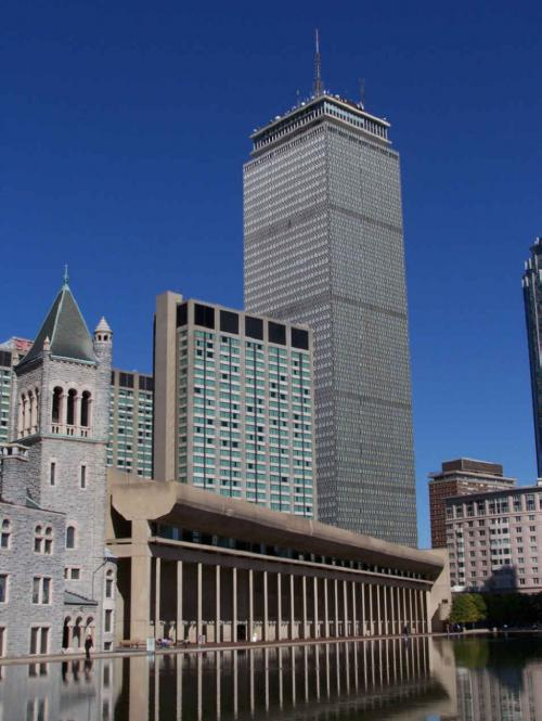 World Travel Photos :: Jewishfan :: Boston. Prudential building