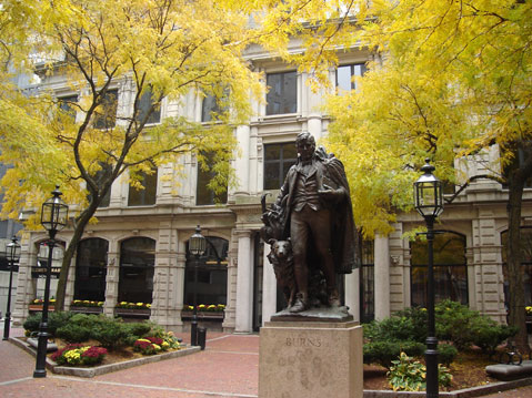World Travel Photos :: Dima :: Boston. Robert Burns monument
