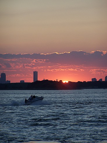 World Travel Photos :: Jewishfan :: Summer sunset over Boston
