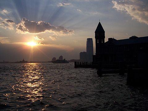World Travel Photos :: USA - Massachusetts -  Boston :: Sunset in Boston