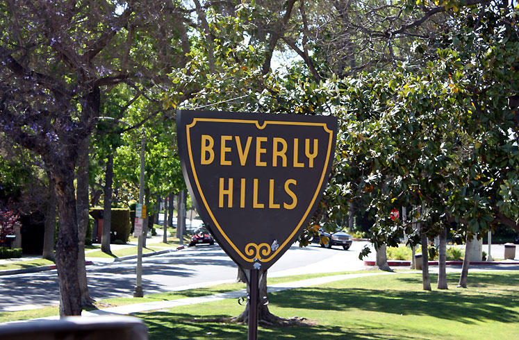 World Travel Photos :: USA - California - Beverly Hills :: Beverly Hills shield