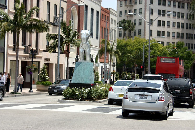 World Travel Photos :: USA - California - Beverly Hills :: Beverly Hills. Rodeo Drive