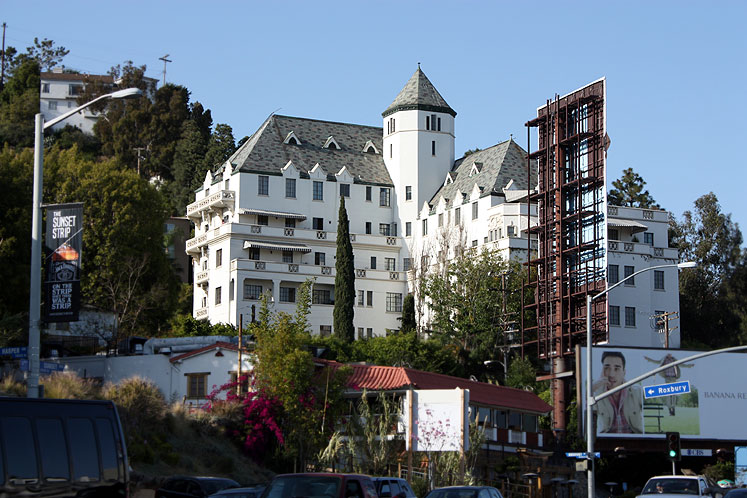 World Travel Photos :: USA - California - Hollywood :: Hollywood - Chateau Marmont hotel
