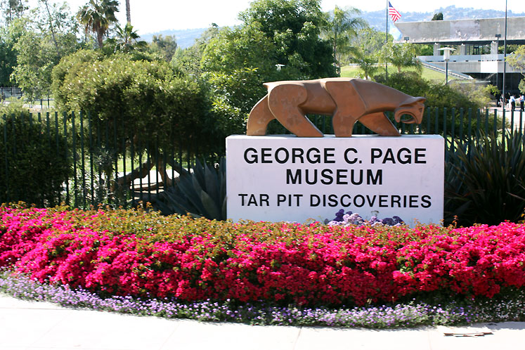 World Travel Photos :: USA - California - Hollywood :: Hollywood. George C. Page Museum