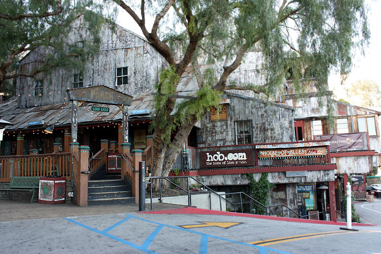 World Travel Photos :: The most famous buildings  :: Hollywood. House of Blues