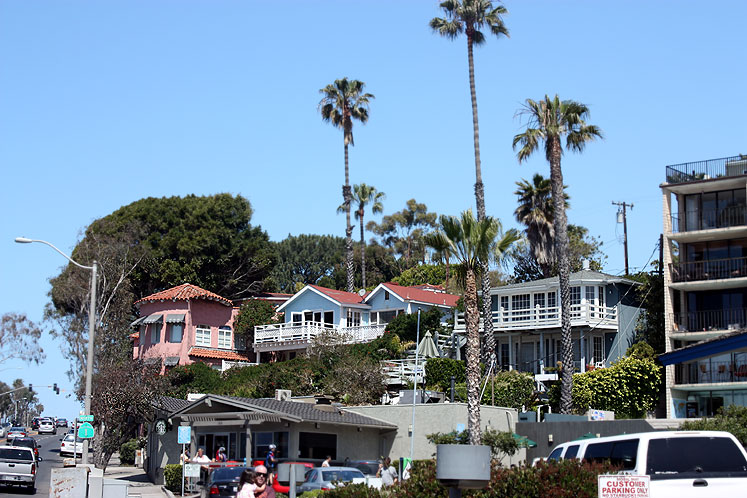 World Travel Photos :: USA - California - Laguna Beach :: California. Laguna Beach - city view