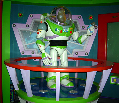 World Travel Photos :: AlexFut :: Disneyland. Buzz Lightyear
