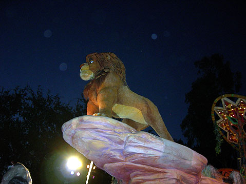 World Travel Photos :: AlexFut :: Disneyland. Simba