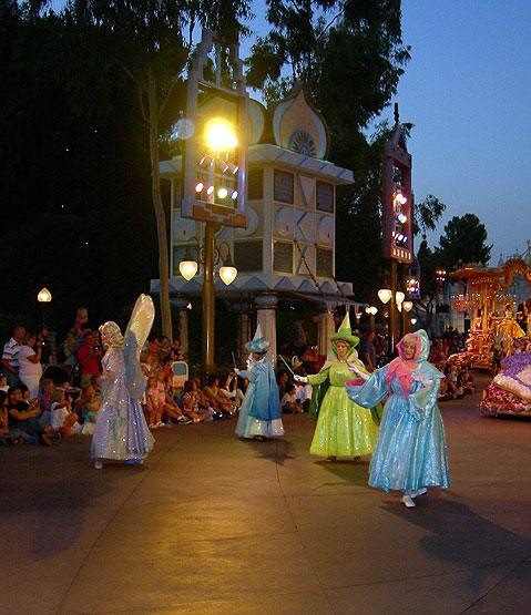 World Travel Photos :: AlexFut :: Disneyland. Fairies from