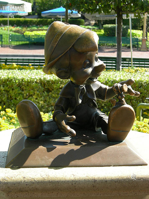 World Travel Photos :: USA - California - Disneyland :: Disneyland. Pinocchio