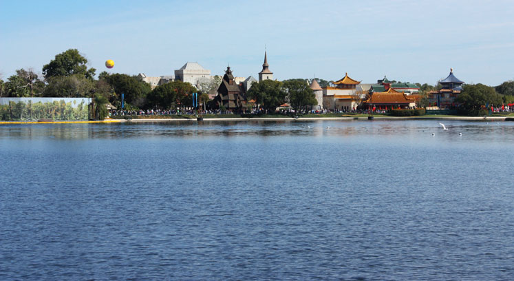 World Travel Photos :: Amusement & theme parks  :: World Disney World. A view on Chinese & Japanese parts in Epcot