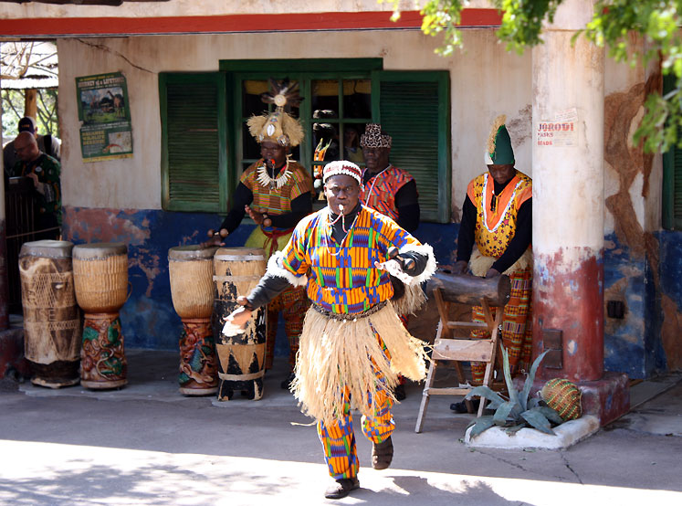 World Travel Photos :: Disney´s Animal Kingdom :: Orlando. A dancing in Animal Kingdom