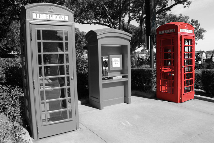 World Travel Photos :: USA - Florida - Orlando - Disney World :: Orlando. Epcot, British Pavillion