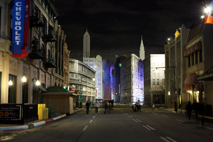 World Travel Photos :: Night views :: Walt Disney . Disney´s Hollywood Studios