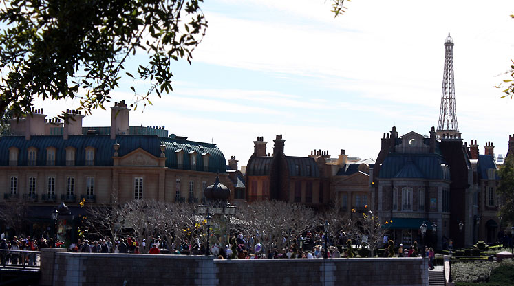 World Travel Photos :: Epcot :: Walt Disney World. Epcot - French part