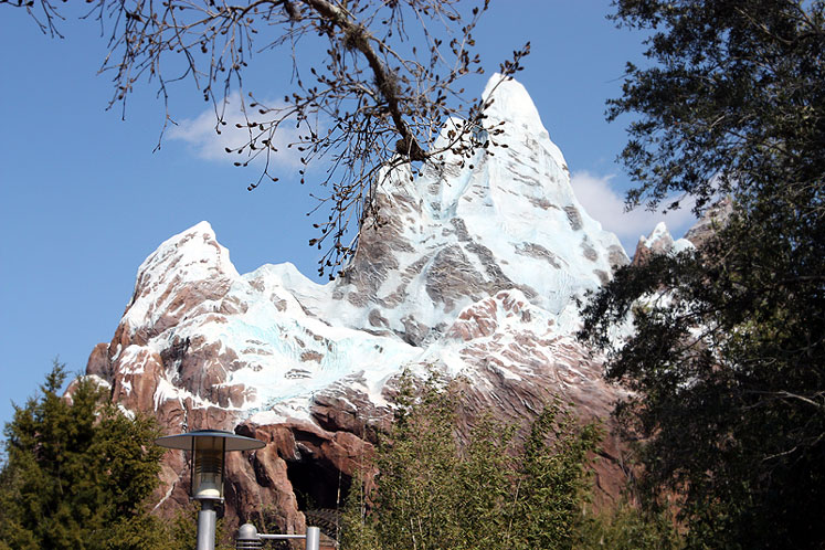 World Travel Photos :: Disney´s Animal Kingdom :: Orlando. Mount Everest - Disney´s Animal Kingdom
