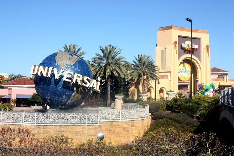 World Travel Photos :: Universal Studios :: Orlando. Universal Studios entrance