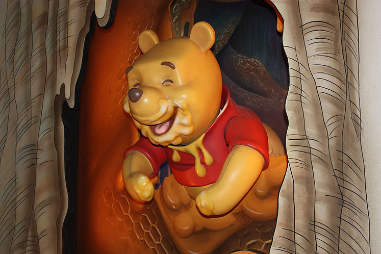 World Travel Photos :: USA - Florida - Orlando - Disney World :: Walt Disney World - Winnie-the-Pooh