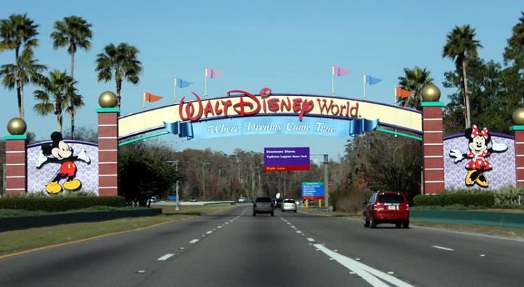 World Travel Photos :: Amusement & theme parks  :: Orlando. The entrance to Disney World