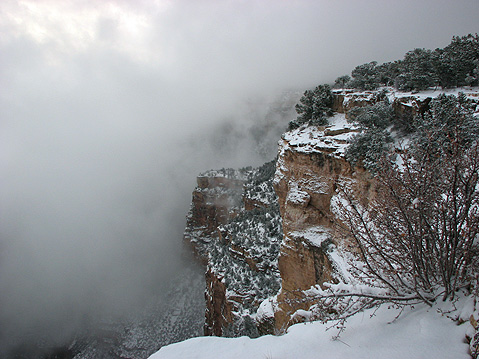 World Travel Photos :: USA - Arizona - Grand Canyon :: Grand Canyon. WInter