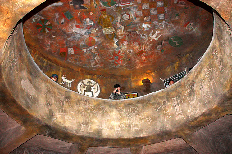 World Travel Photos :: USA - Arizona - Grand Canyon :: Arizona. Grand Canyon - inside the watchtower