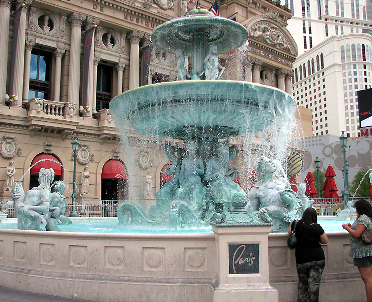 World Travel Photos :: Fountains :: Las Vegas. A fountain