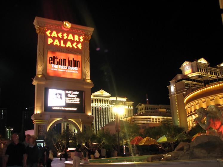 World Travel Photos :: USA - Nevada - Las Vegas :: Las Vegas. Ceasars Palace
