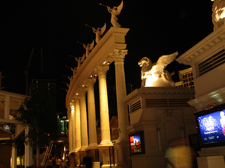 World Travel Photos :: Night views :: Las Vegas. Cesars Palace