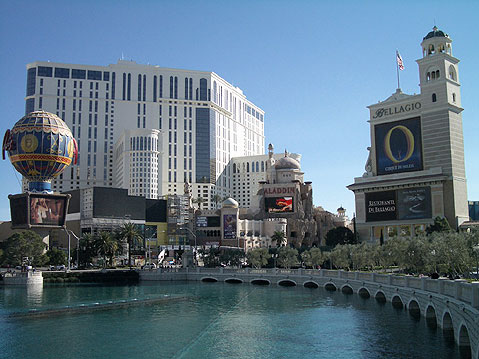 World Travel Photos :: Panoramic views :: Las Vegas. Hotels