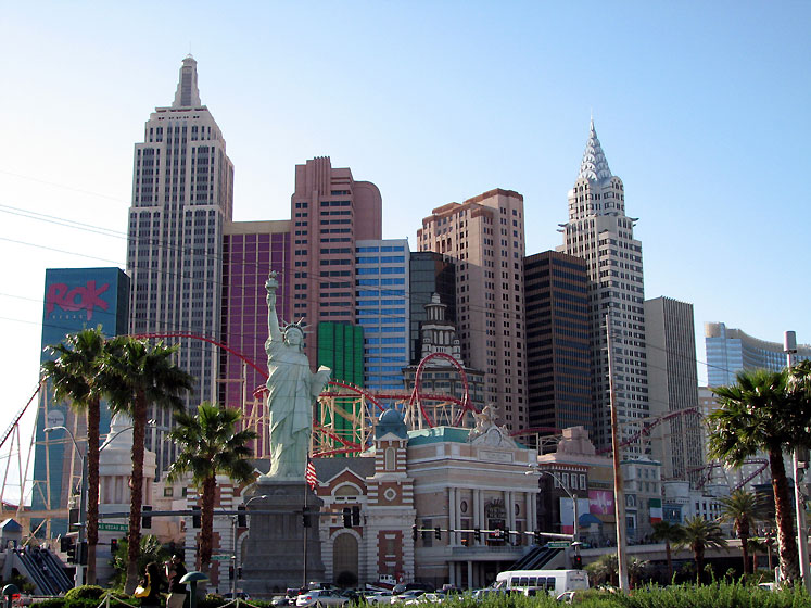 World Travel Photos :: Amusement & theme parks  :: Las Vegas. New York New York
