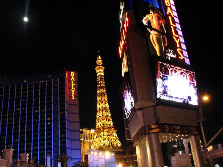 World Travel Photos :: USA - Nevada - Las Vegas :: Las Vegas. Paris & Ballys