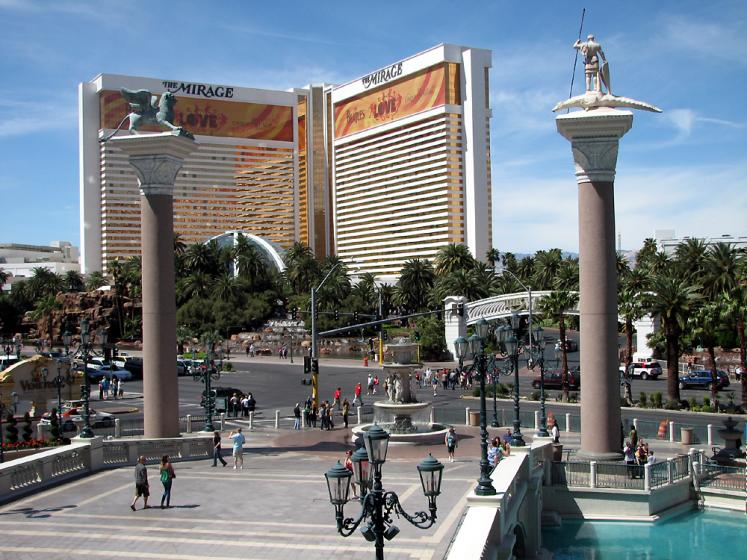 World Travel Photos :: Hotels :: Las Vegas. Venetian & Mirage