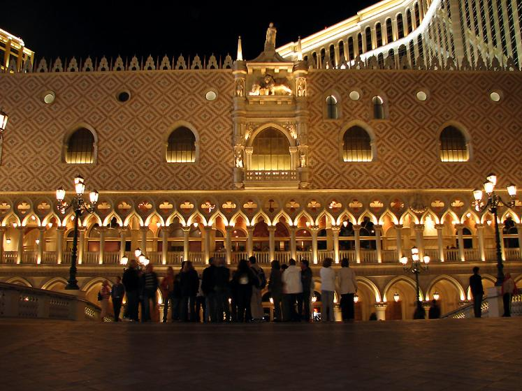 World Travel Photos :: Hotels :: Las Vegas. Venetian at night