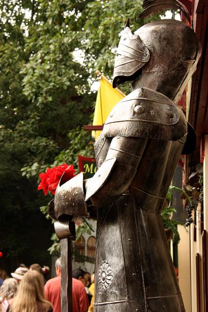 World Travel Photos :: USA - Michigan - Renaissance Festival  :: Michigan. Renaissance Festival - a knight