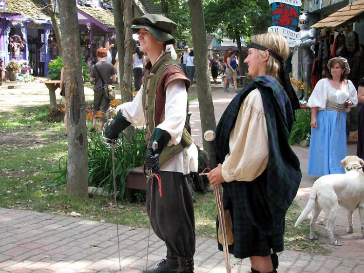 World Travel Photos :: USA - Michigan - Renaissance Festival  :: Michigan. Renaissance Festival - always ready to have fight and fun!
