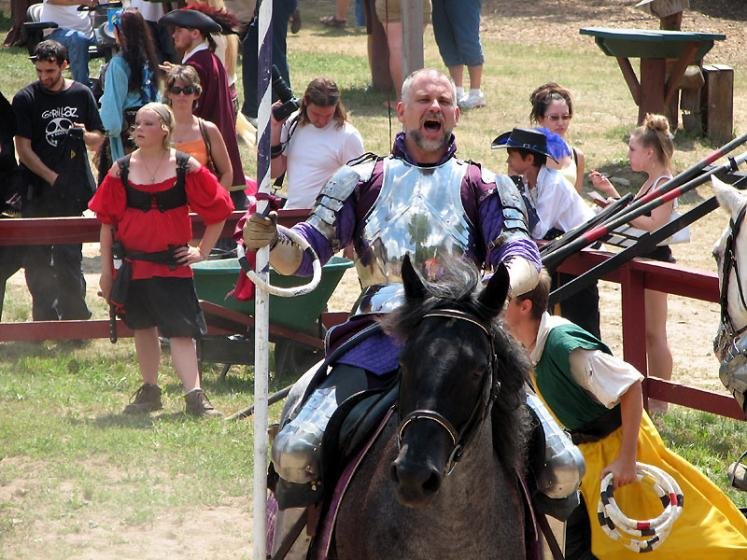 World Travel Photos :: Jousting :: Michigan. Renaissance Festival