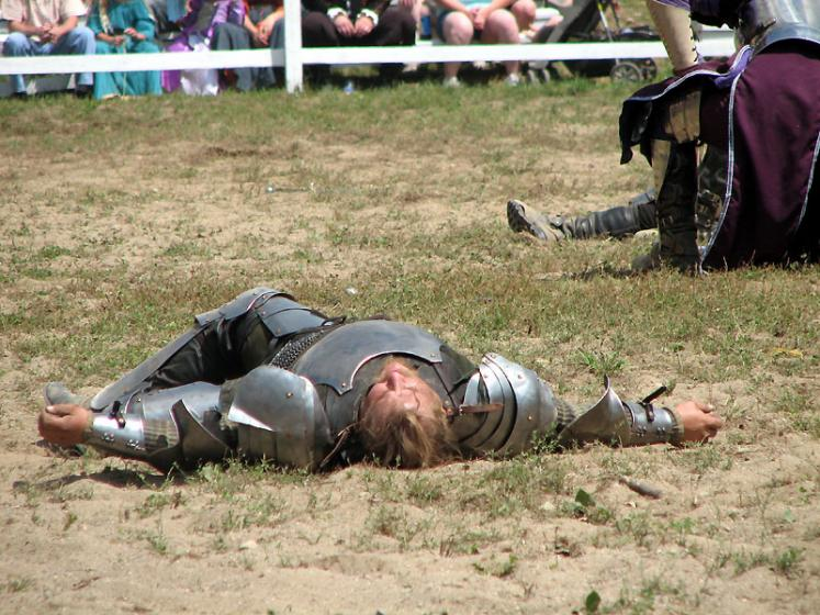 World Travel Photos :: Jousting :: Michigan. Renaissance Festival - on the battle field