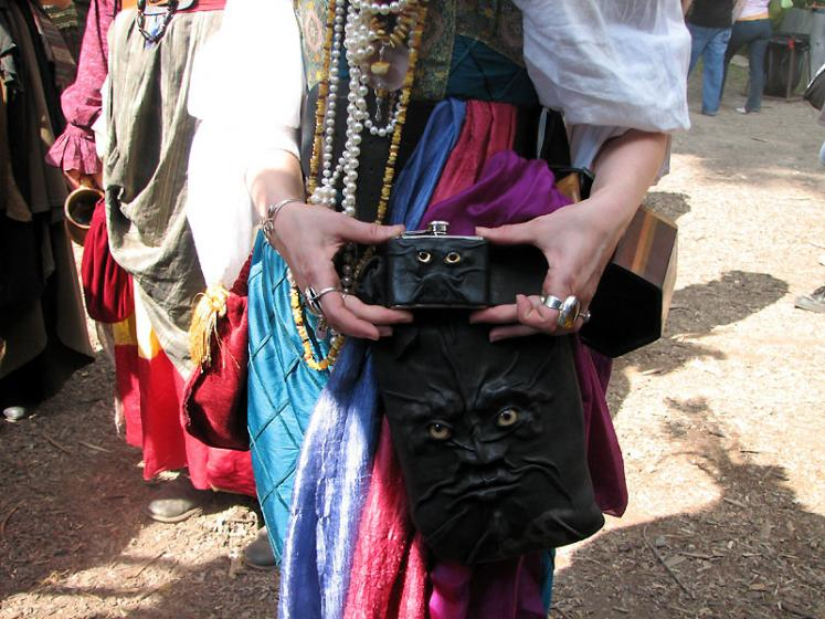 World Travel Photos :: Costumes :: Michigan. Renaissance Festival - we are watching you....